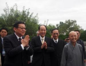 海協會會長陳德銘參訪台灣花蓮